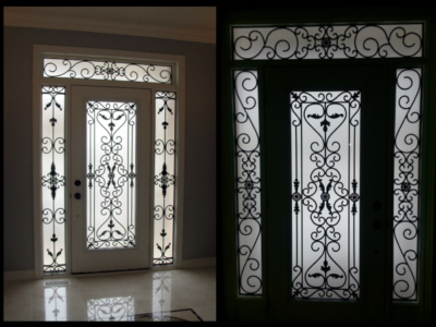 Exceptionnel Wrought U2013 AVL. Tags Door Inserts/Wrought Iron ...